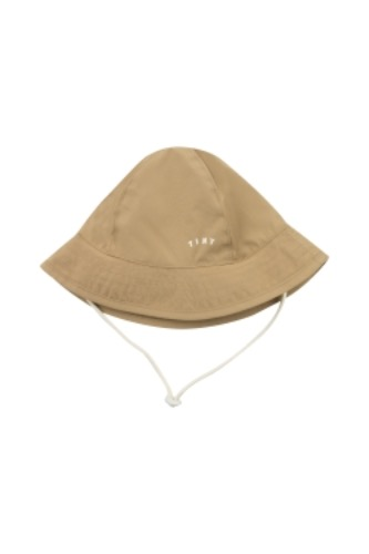 TINY SOLID BUCKET HAT_sand (DROP2)