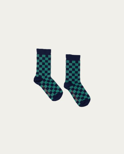 TC-AW20-65(Green Checked Socks)