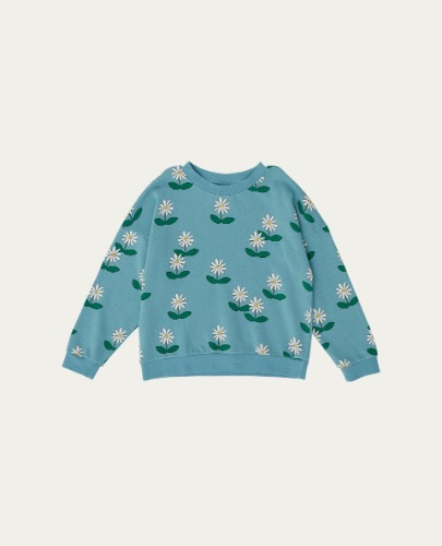 TC-SS21-20(Flowers Sweatshirt) ( 12Y last )