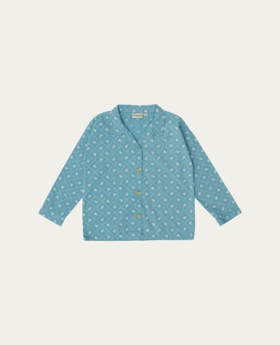 TC-SS21-16(Checks & Flowers Shirt)