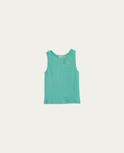 TC-SS21-01(Logo Sleeveless TShirt)