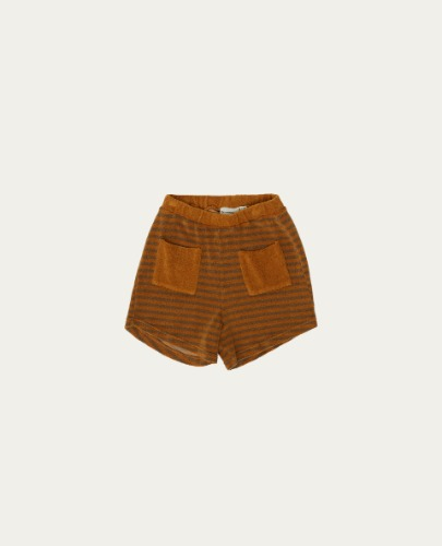 TC-SS21-39(Brown Stripes Short)